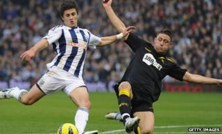 Shane Long is West Brom's top goalscorer this season