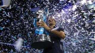 World Tour Finals winner Roger Federer