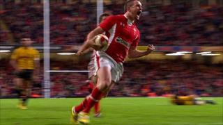 Wales wing Shane Williams