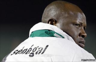 Senegal coach Amara Traore