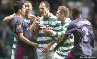 Celtic v Rennes