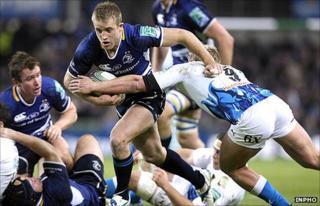 Luke Fitzgerald scored two tries in Leinster's win over Bath