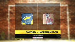 Oxford 2-0 Northampton
