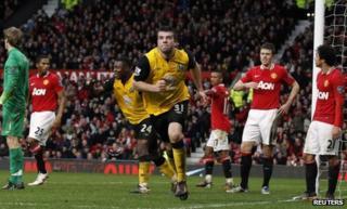Grant Hanley scores the winner for Blackburn