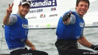 Luke Patience (left) and Stuart Bithell won silver at the 2011 World Championships in December