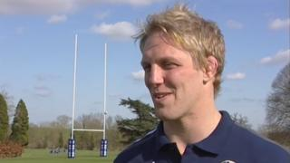 Former England captain Lewis Moody