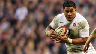 England's Manu Tuilagi