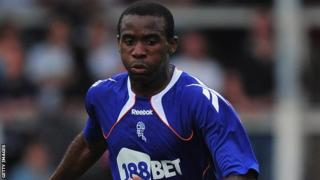 Bolton Wanderers midfielder Fabrice Muamba