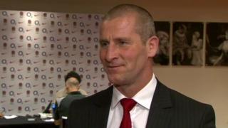 England head coach Stuart Lancaster