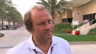 Force India's Bob Fernley