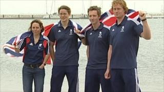 Team GB sailors