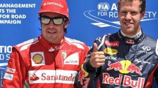Sebastien Vettel Fernando Alonso
