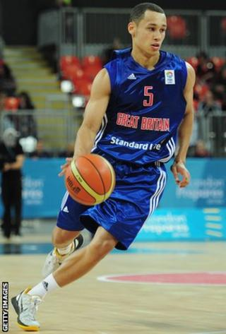 Andrew Lawrence of Team GB basketball