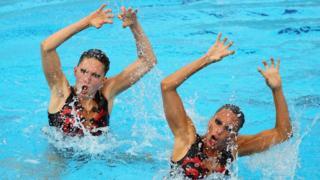 Team GB's Jenna Randall and Olivia Federici