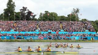 Great Britain narrowly miss out on the gold in a thrilling men's lightweight four