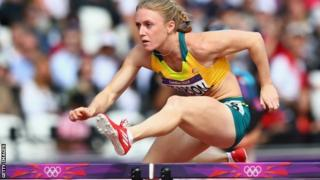 Australian hurdler Sally Pearson
