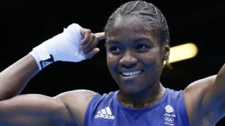 Watch as Nicola Adams wins historic boxing gold at London 2012