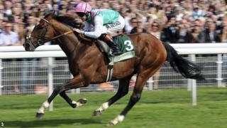 Tom Queally and Frankel