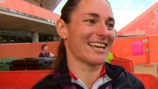 Gold medallist Sarah Storey