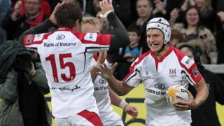 Ulster beat Glasgow 18-10 at Ravenhill