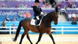 Lee Pearson rides Gentleman