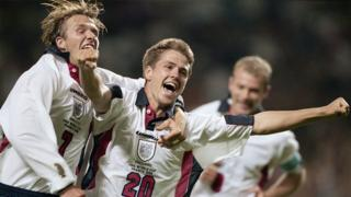 Michael Owen's most memorable England goals