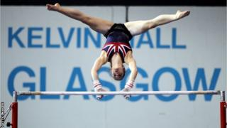 Gymnastics at Kelvin Hall