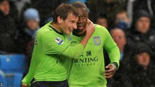 Marc Albrighton (left) and Charles N'Zogbia
