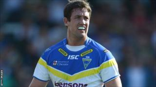 Warrington Wolves second row Trent Waterhouse