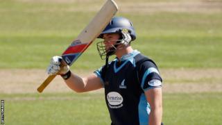 Sussex batsman Matt Machan will tour with Scotland
