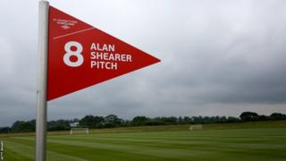 Alan Shearer pitch at St George's Park