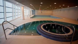 Indoor swimming pools at St George's Park