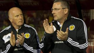 Houston and Levein share the Scotland dugout