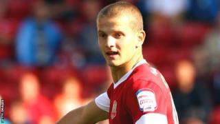 Barnsley's Tomasz Cywka