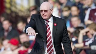 Hearts manager John McGlynn