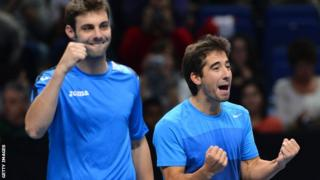 Marcel Granollers and Marc Lopez