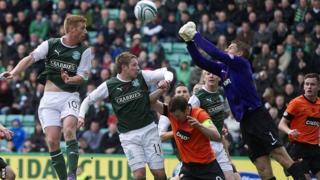 Hibs v Dundee United