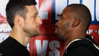 Carl Froch and Yusaf Mack