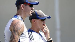Kevin Pietersen & Andy Flower