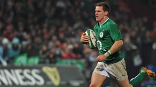 Ireland wing Craig Gilroy