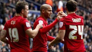 Nottingham Forest celebrate