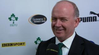 Ireland coach Declan Kidney