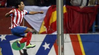 Atletico Madrid striker Radamel Falcao
