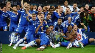 Chelsea win Champions League