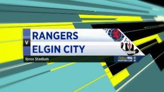 Rangers v Elgin City