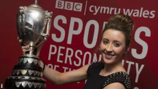 BBC Cymru Wales Sports Personality of the Year 2012 winner Jade Jones