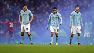 Manchester City's Gareth Barry
