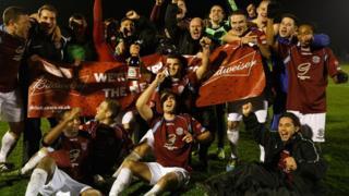 Hastings celebrate
