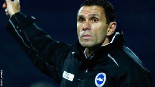 Brighton manager Gus Poyet