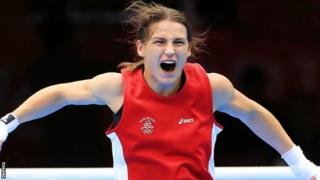 Katie Taylor won Ireland's only gold medal at the London Olympics